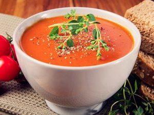 Грибной крем –суп с сухариками