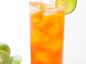 Чай со льдом и лимоном
